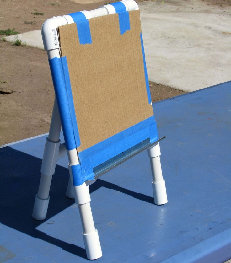 PVC Easel Best 75 PVC Pipe Projects
