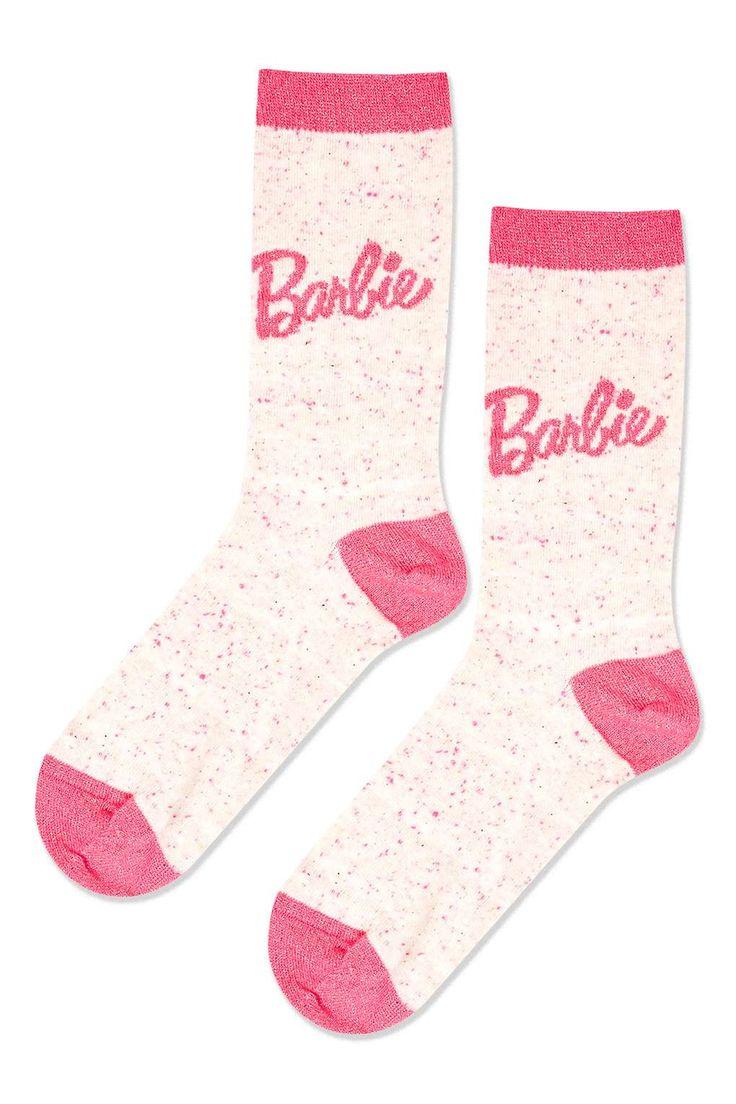 Barbie Logo Ankle Socks - Bags & Accessories- Topshop Europe