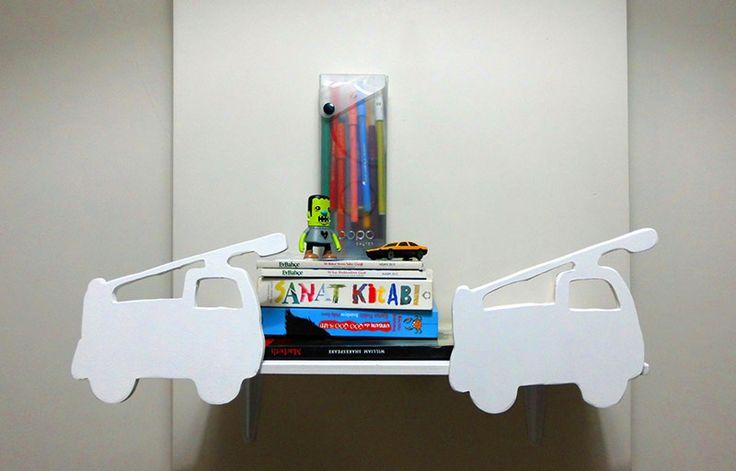 Bebek Odası Duvar Rafları – Pratik Fikirler