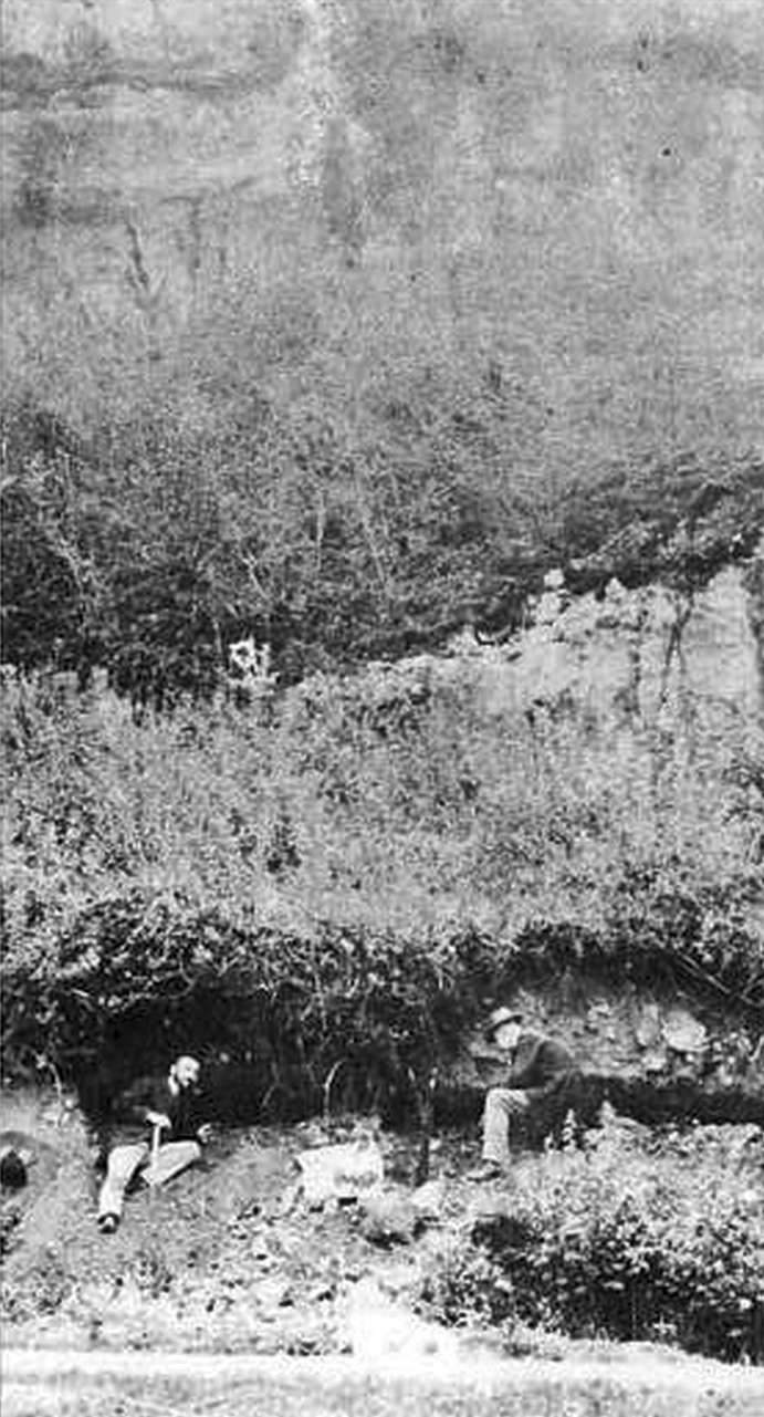 La Quina early excavations Neandertal