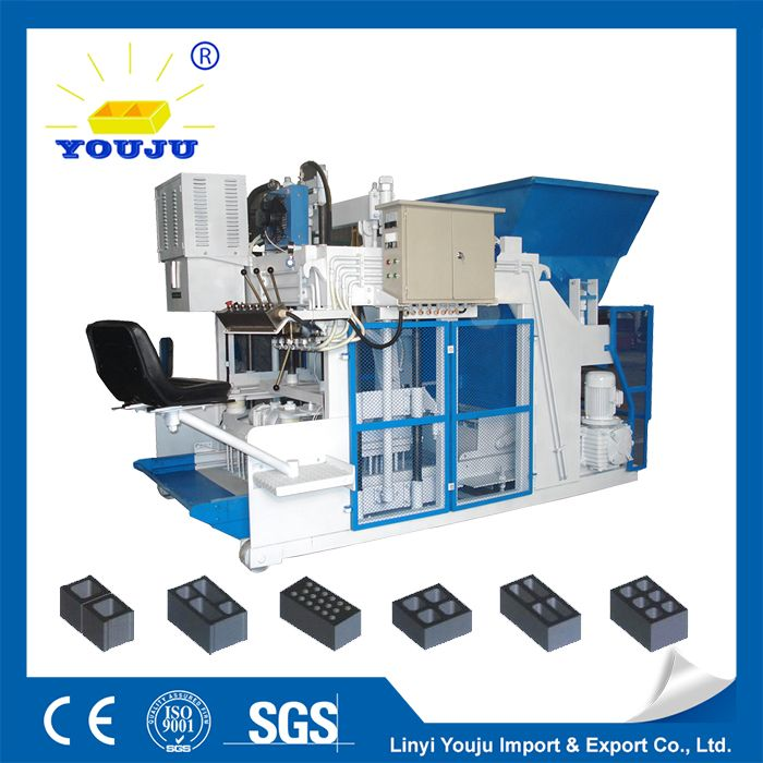 large type mobile block machine