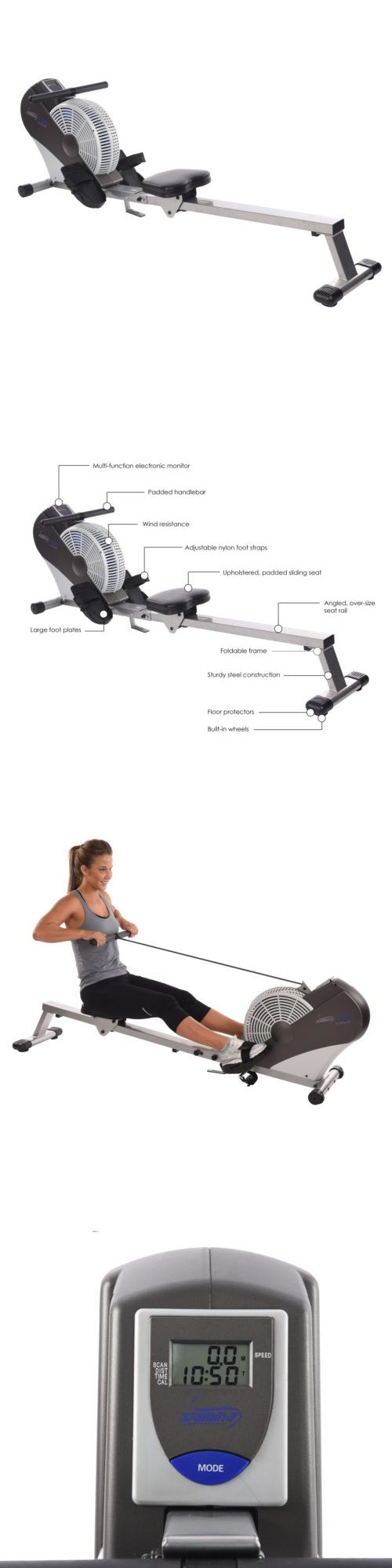 Rowing Machines 28060: Stamina Air Rower -> BUY IT NOW ONLY: $366.78 on eBay!