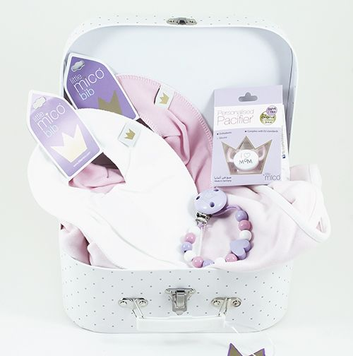Littlemico™ Pink Suitcase Gift Set.