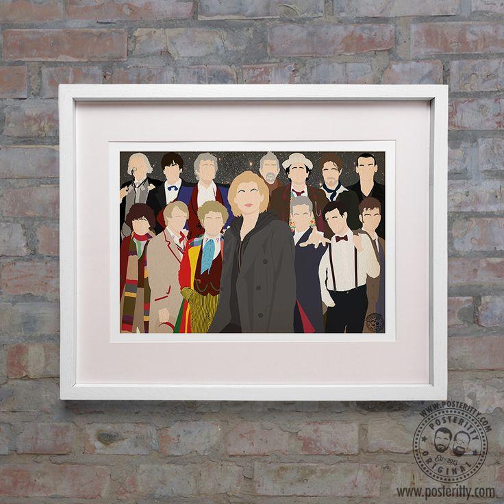 Jodie Whittaker - 13th Doctor #PosterittyStyle #Minimalist #DoctorWho #Whovians #DoctorWhoFanart #JodieWhittaker