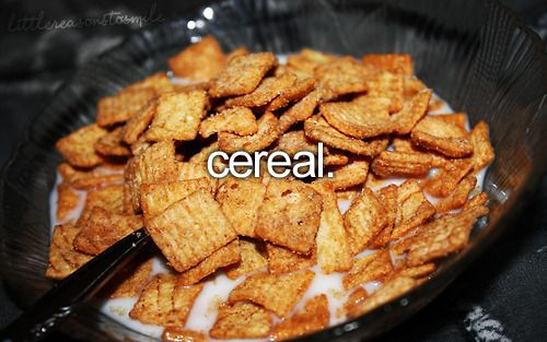 =) And this here, Cinnamon Toast Crunch, is a cereal I grew up eating and still love today. =)