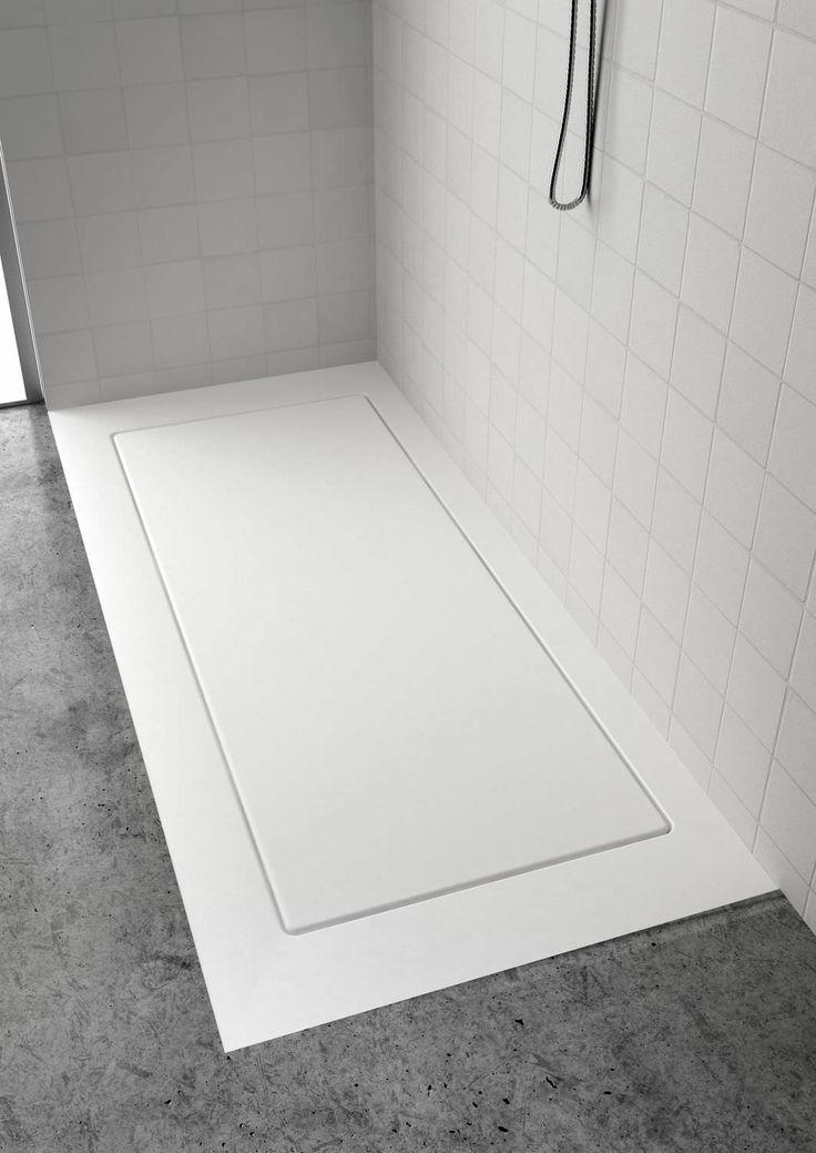 Mejores 56 im genes de platos de ducha showers en - Plato ducha corian ...