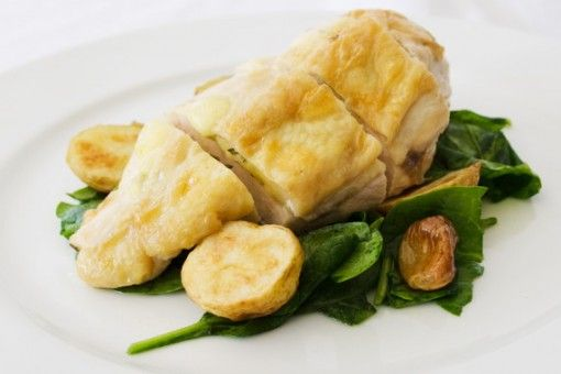 Stuffed Chicken Breast with Emmental and Rosemary