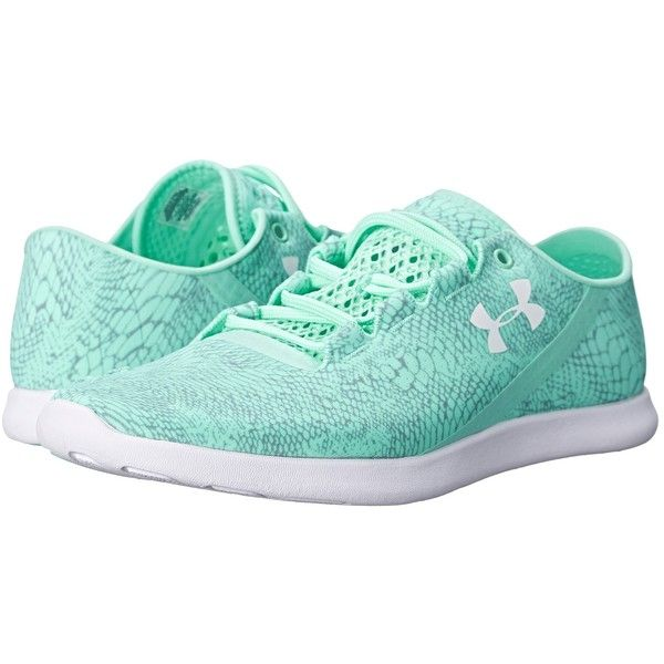 Under Armour UA Speedform Studiolux Womens Running Shoes, Green (2,550 PHP) ❤ liked on Polyvore