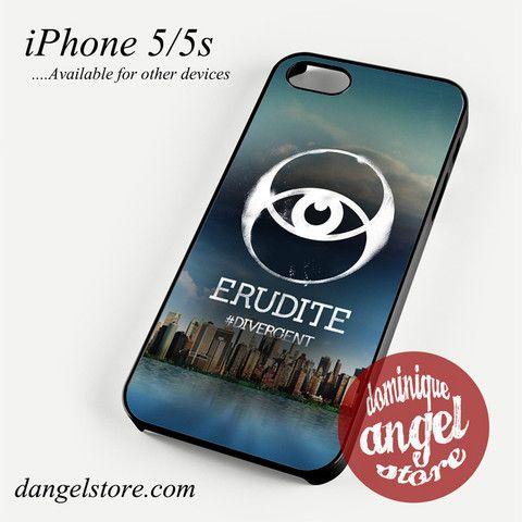 Divergent Erudite Phone Case for iPhone 4/4s/5/5c/5s/6/6s/6 plus