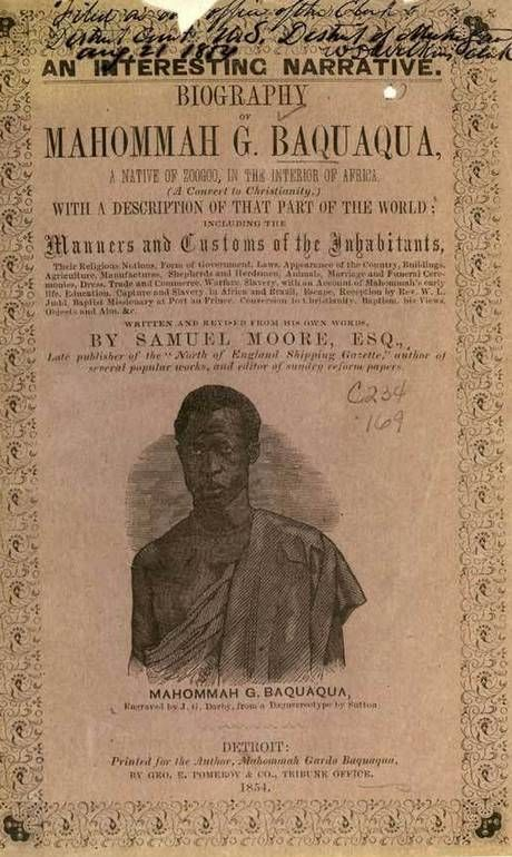 Historiadores traduzem única autobiografia escrita por ex-escravo que viveu no Brasil - Jornal O Globo