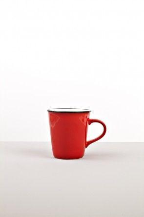 Red medium mug