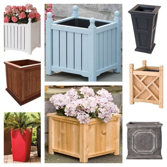 Made To Measure Bespoke Wooden Planters: 1000+ Ideas About Wooden Planters On Pinterest