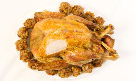 Felicity's turkey.  Photograph: Linda Nylind for the Guardian