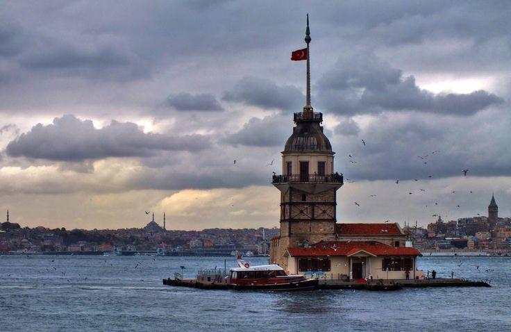 The Maiden's Tower, Istanbul by Arda Erlik Photography on 500px