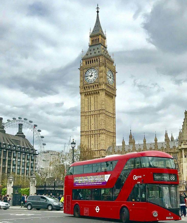 "Big Ben London Uk (@loves_bigben) no Instagram: ""Wishing you an amazing Sunday  Photo @jeanette.bertelsen  #map_of_europe #LondonNature . . . TAG…"""