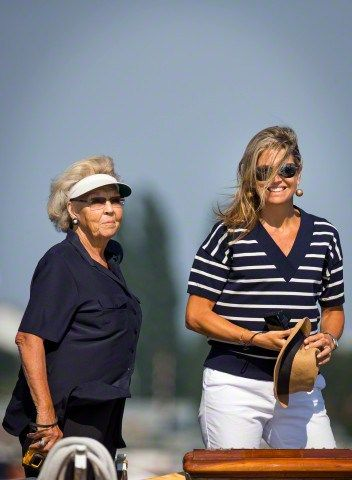 Princess Beatrix and Queen Máxima, August 22, 2015 | Royal Hats