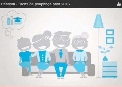 Dicas de poupança para 2013