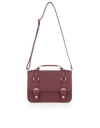 Get back to school with this cool satchel from Accessorize!