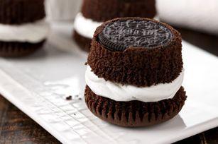 OREO Cupcakes recipe can you spell D.E.L.I.C.I.O.U.S! 24 OREO Cookies 1pkg. (2-layer