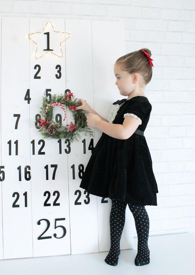 Christmas Advent Countdown DIY