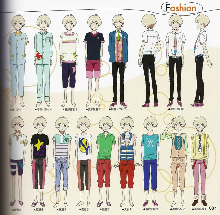 7 Best Anime Boy Clothing Images On Pinterest