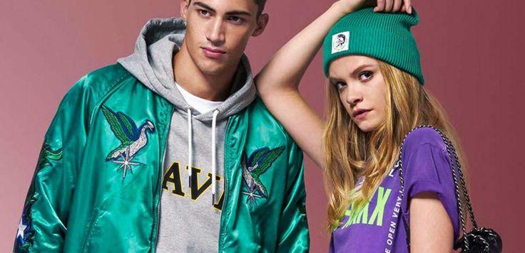 Diesel dio a conocer un preview de lo que será su lookbook para la temporada primavera/verano 2018. #2018 #Diesel #fashion #hombre #lookbook #men #moda #NicolaFormichetti #primavera #StevenKlein #style #verano