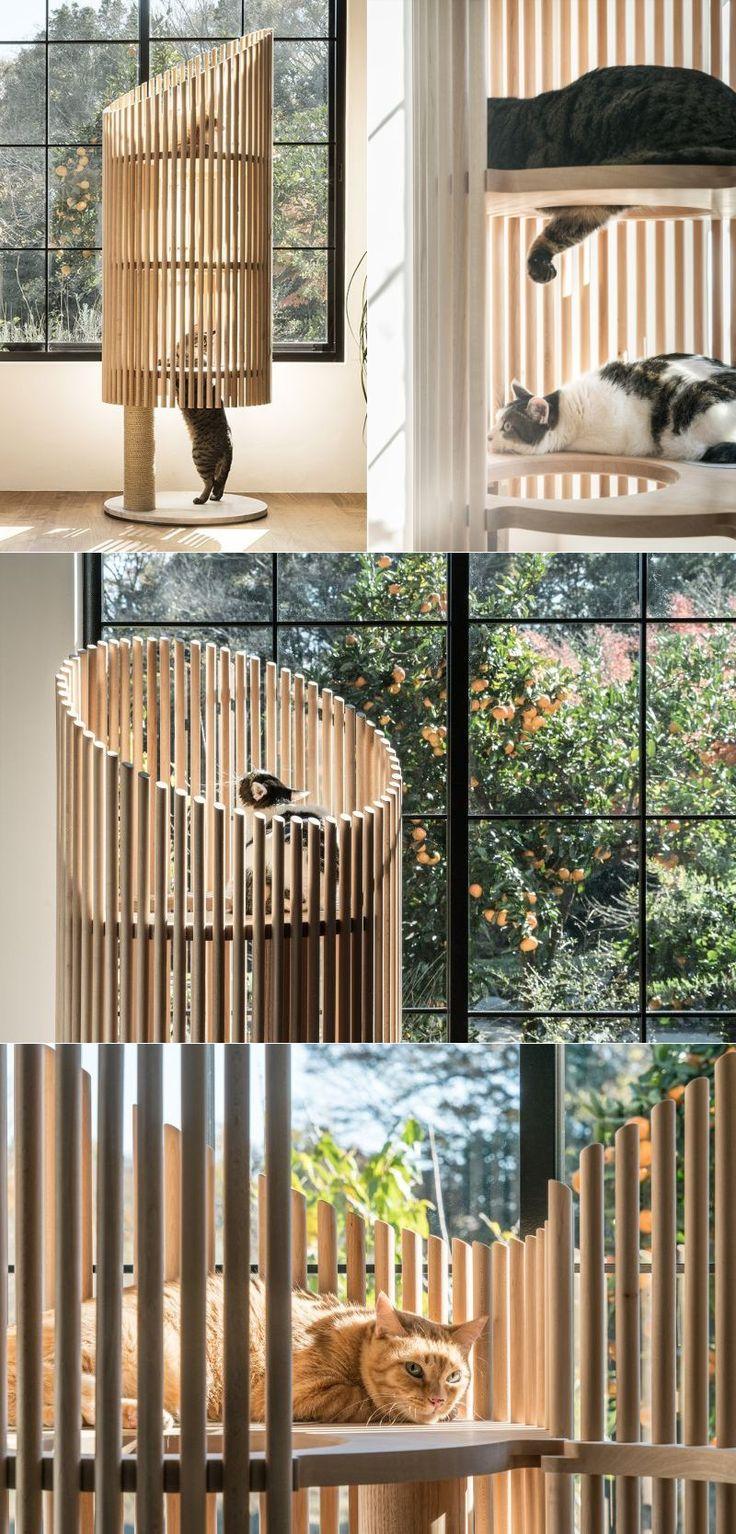 Neko Cat Tree Costs More Than A Condo S Annual Rent Diy Cat Tree Cat Tree Cat Tree Designs