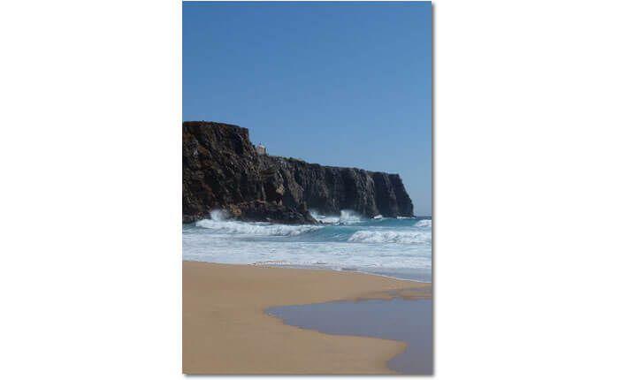 Dieses Photo entstand am Praia do Tonel bei Sagres an der Algarve, mit Blick auf…