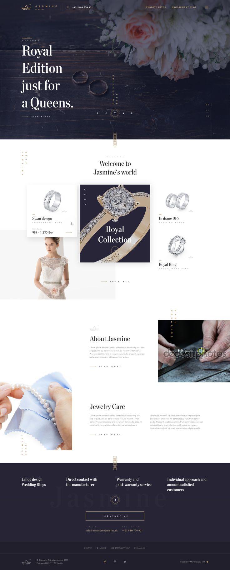 Jewelry Store - Web Design