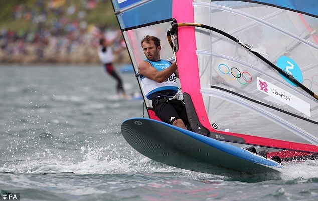 Nick Dempsey takes silver in Men's windsurfing