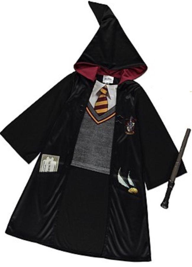 Hermione Wig Harry Potter Wizard Fancy Dress Halloween Child Costume Accessory