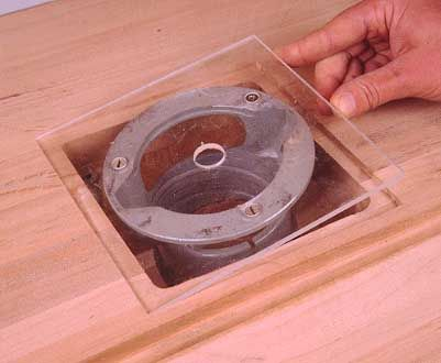 Mounting a Router in a Bench or Table Top - Jeff Greef Woodworking
