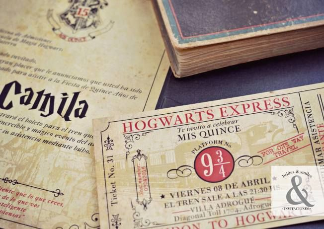 Tarjeta de 15 Harry Potter 2