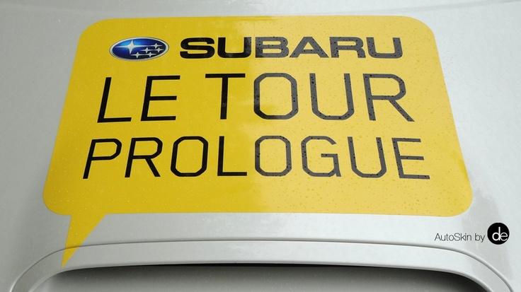 Cycling Vehicle Decals, Sponsor Vehicles, Subaru Active, Subaru Vehicle Wraps