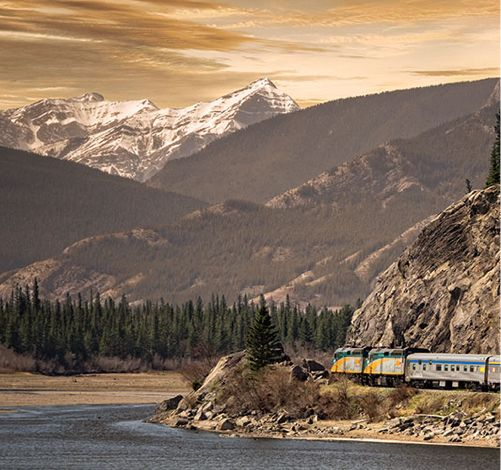 Discover Canada as you've never seen it with VIA Rail. Travel the Western Way and live a unique and wonderfull experience.