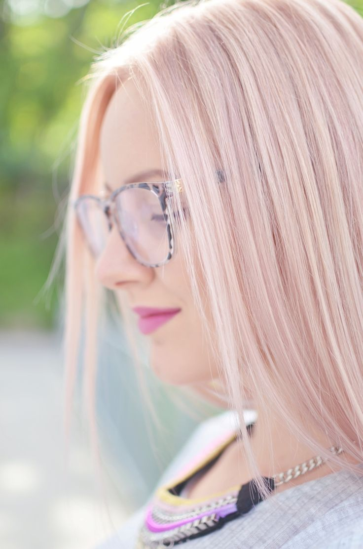 Pastel Pink Hair !  {Pastel Hair Color, cottoncandy hair, sleek hair, hair inspiration} with_L'oréal_Sublime_Mousse_Strawberry_Love_