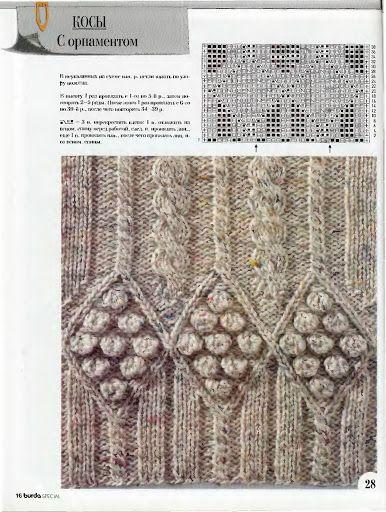 Burda S401 Vzory - Isabela - Knitting 2 - Веб-альбомы Picasa
