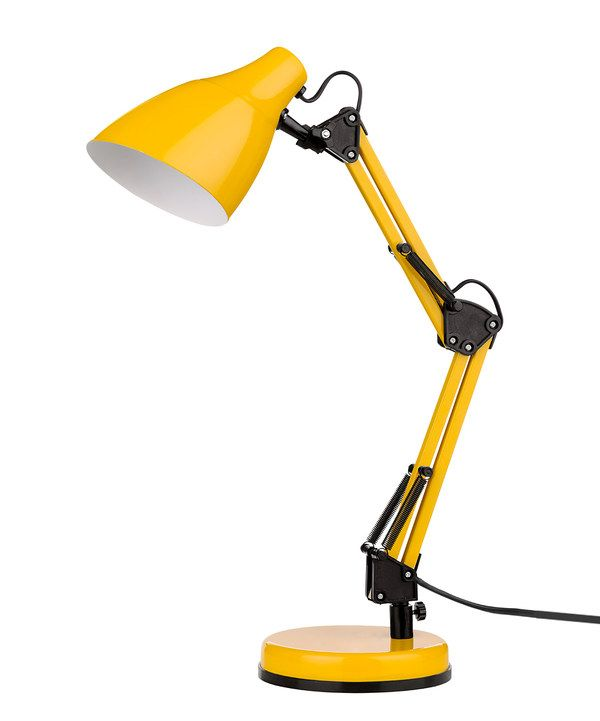 Look at this Yellow Fully Adjustable Table Lamp on #zulily today!