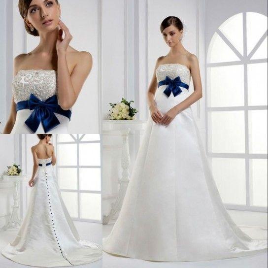Préférence Oltre 25 fantastiche idee su Abiti da sposa blu su Pinterest  IC57