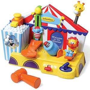 Interactive Toys for Toddlers: Infantino Under the Big Top (via Parents.com)