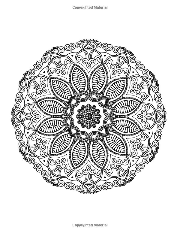 Lilt kids coloring books mandalas to color beautiful mandala coloring pages coloring book for adults volume
