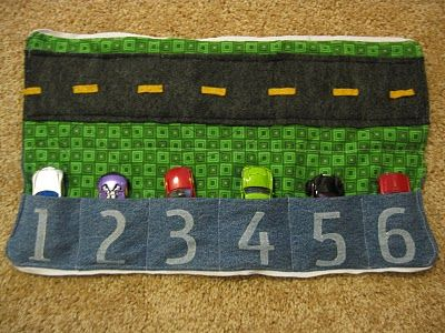 Cozy Car Caddy - MIL made one similar. This one is great too!