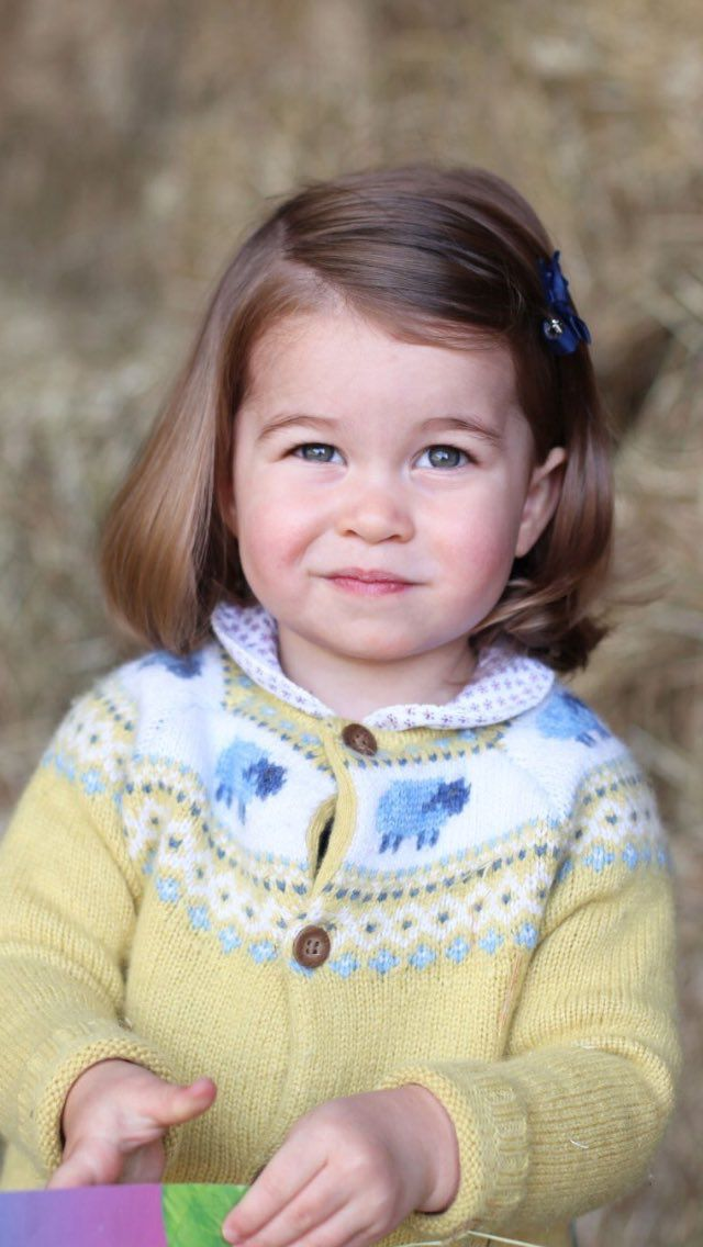 A new photo of Princess Charlotte (Born 2 May 2015) has been released by Kensington Palace one day ahead of her 2nd birthday.