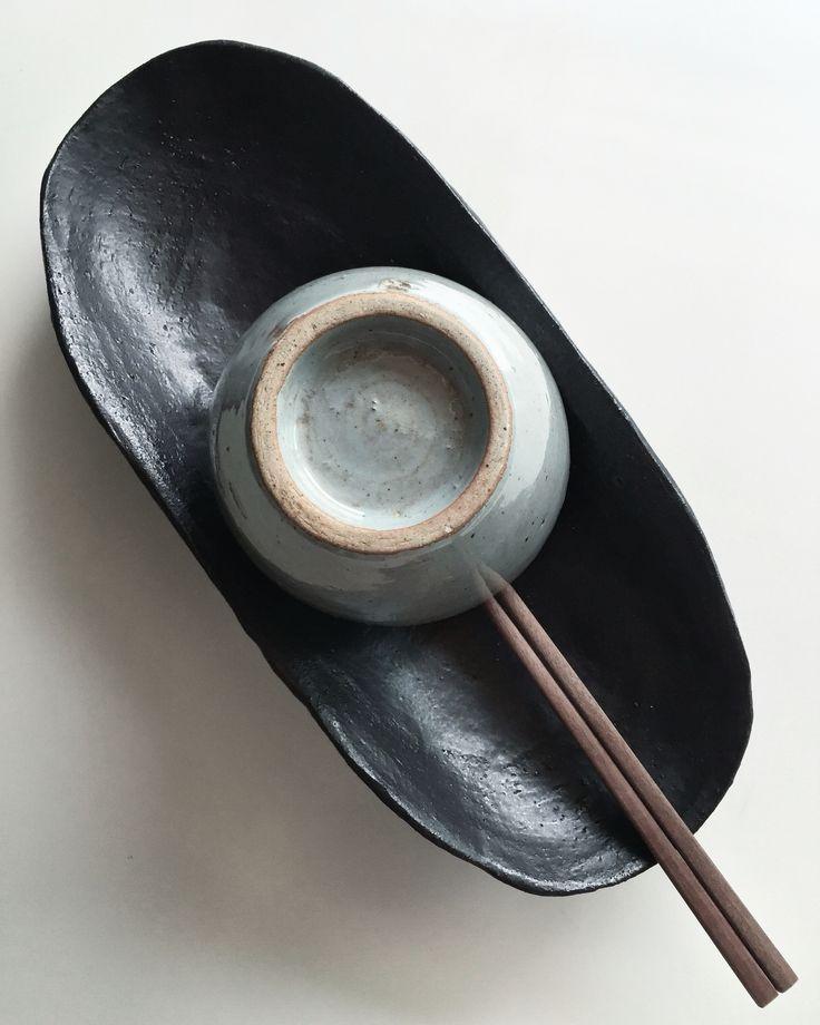 Baguette Bowl  by atelier shop PAUL AVRIL Ceramic  Pottery Poterie Atelier
