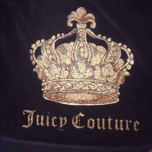 Juicy Couture track suit jacket Juicy velvor zip up jacket with hoodie. In good condition, only worn a few times!! Juicy Couture Jackets & Coats