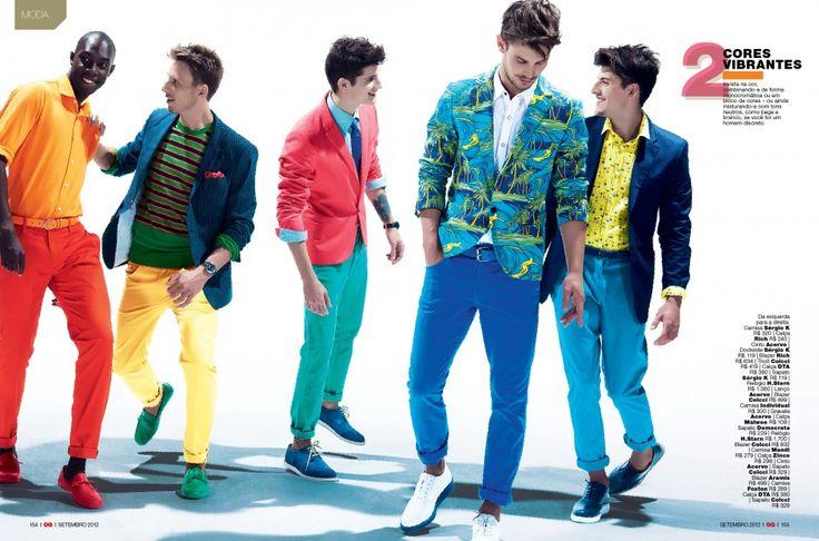 GQ Brazil: Totally Jeans, Brazil Trends, Trends Summer, Vibrant Colors, Gq Brazil