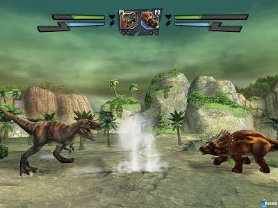 TIERRA DE DINOSAURIOS: Videojuego Combate de Gigantes: Lucha de Dinosauri...