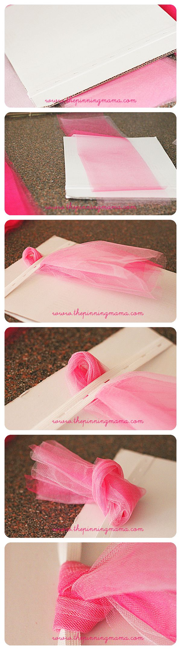 Now all that is left is to fluff your tutu!  Simply go through each layer and…