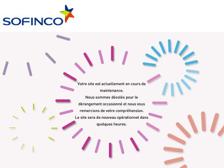 Prêt, credit consommation en ligne Sofinco : simulation et demande en ligne de prêt, credits renouvelables et rachat credit