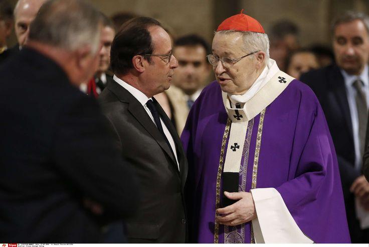 Dans son homélie d'hommage au père Jacques Hamel, le cardinal André Vingt-Trois a dénoncé le climat politique délétère en France. Il ne s'est pas non plus empêché une allusion directe au mariage pour tous...
